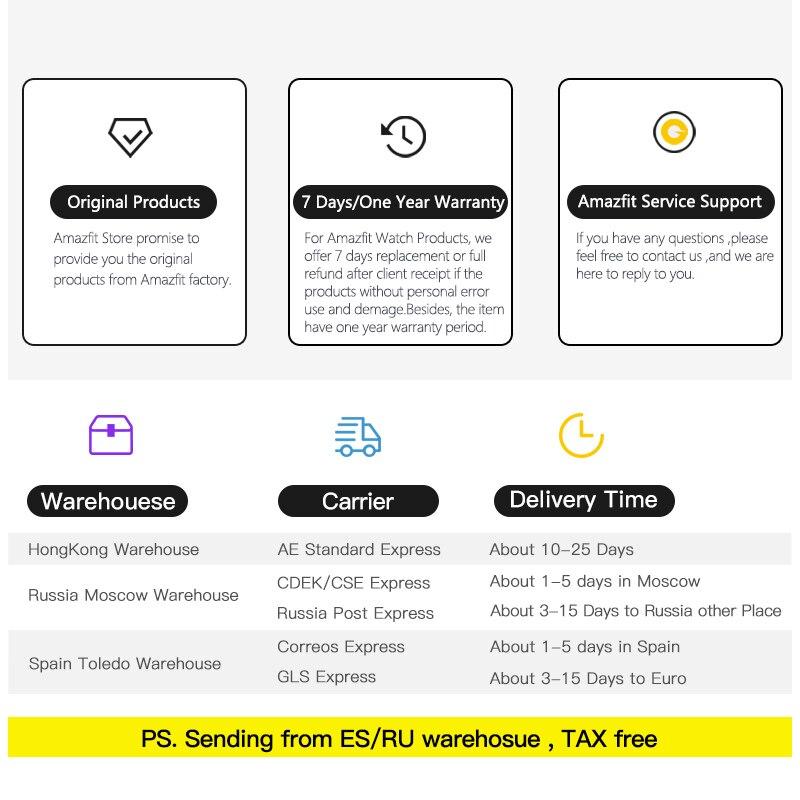 Huami Amazfit Stratos 2 Smartwatch Appel Rappel Bluetooth Musique GPS Support11 Sport Modes 5ATM Étanche Longue Attente Batterie - 6