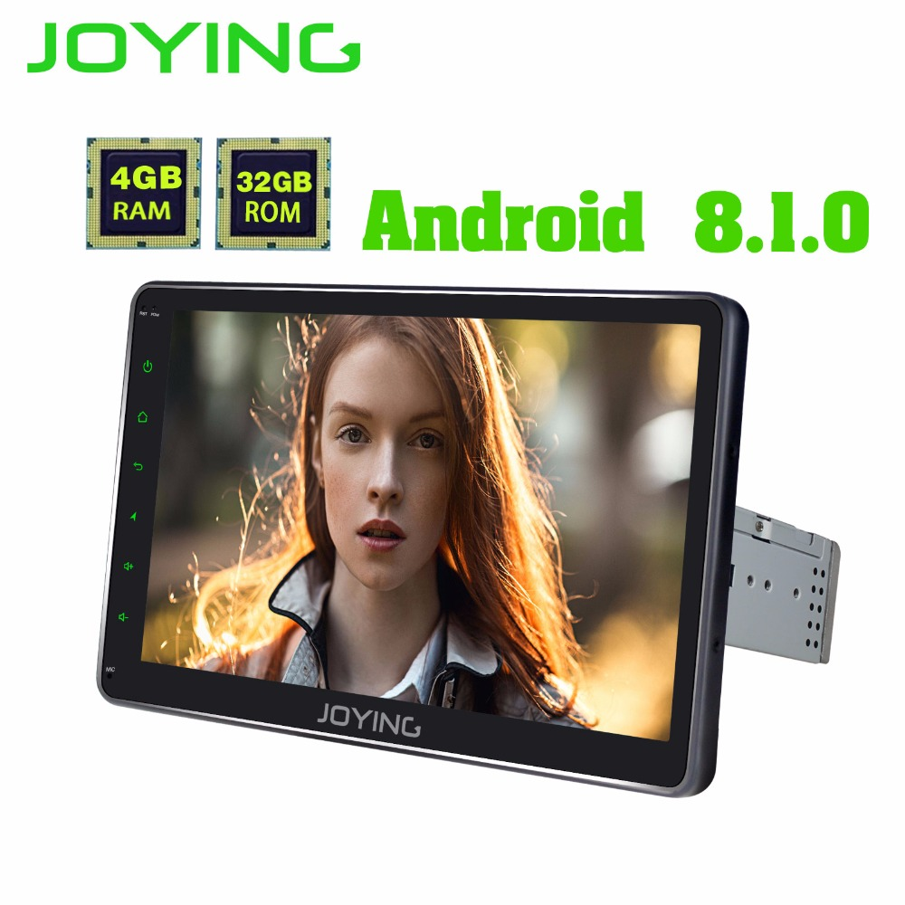 Android 8.1 car radio head unit  universal 1din 10.1 4GB Octa Core HD Screen GPS dsp navigation audio Media Player Tape recorder