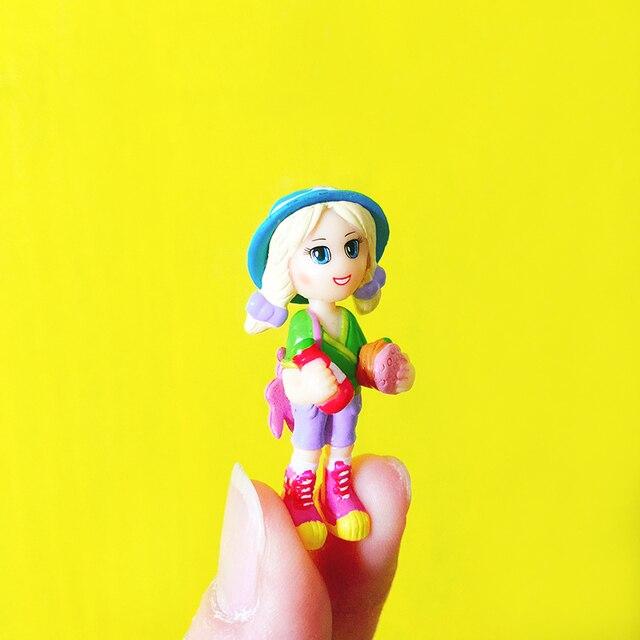 New Arrival/little Girl On Picnic/miniatures/lovely Cute/fairy Garden Gnome