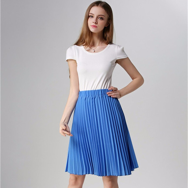 Beautiful Elegant Midi Skirt