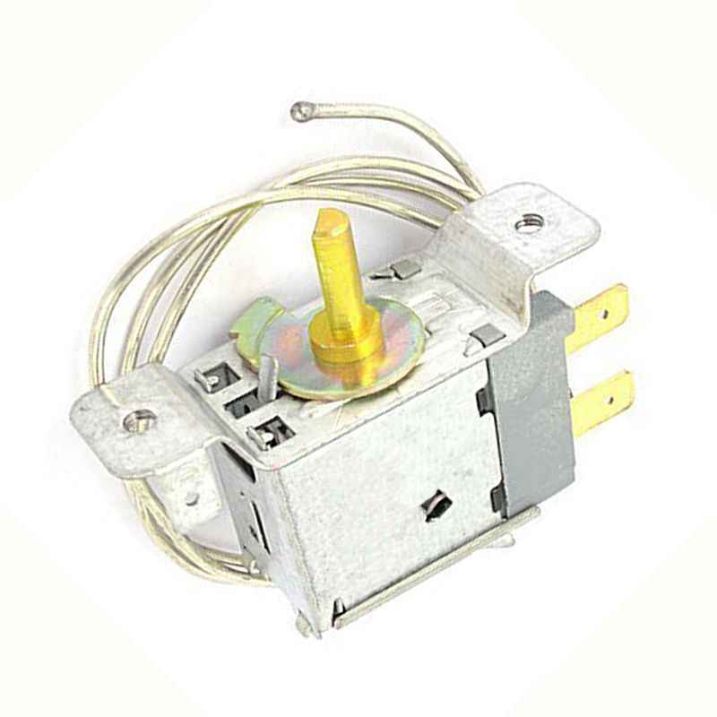 220-250V fridges thermostat 66 cm cable 2 pin temperature controller thermostat for fridges