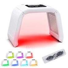 جديد المهنية الفوتون PDT مصباح ليد قناع الوجه آلة 7 ألوان علاج حب الشباب الوجه تبييض الجلد تجديد العلاج بالضوء
