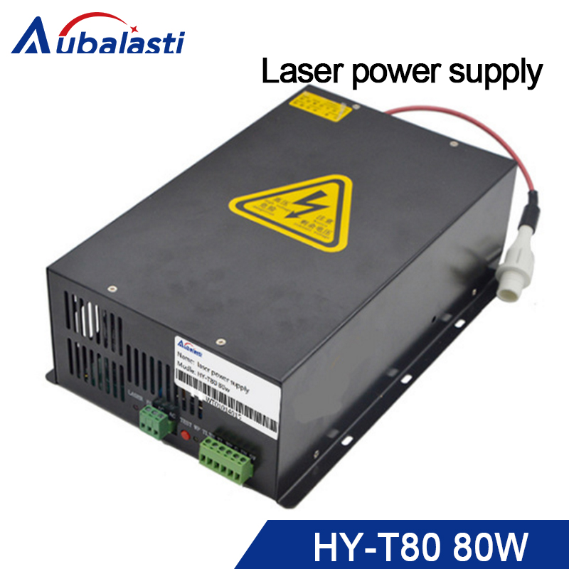 все цены на 80w Switching power supplyHY-T80 use for 80w co2 laser tube laser engraving and cutting machine