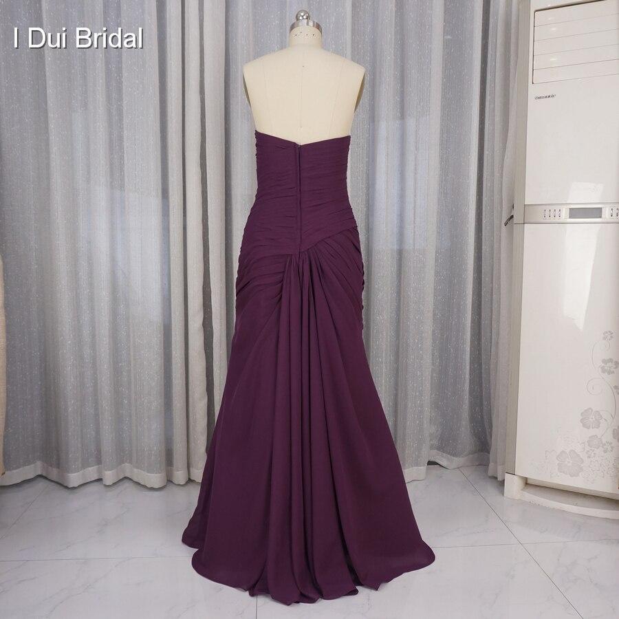 Mor brudklänningar med Tulle Jacket Halvärmad Bolero En linje - Bröllopsfestklänningar - Foto 3