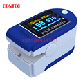 Brand New 2016 CONTEC pulse Oximeter CMS50D 6 colours Free shipping Manufacture+Rubber Case CMS50D