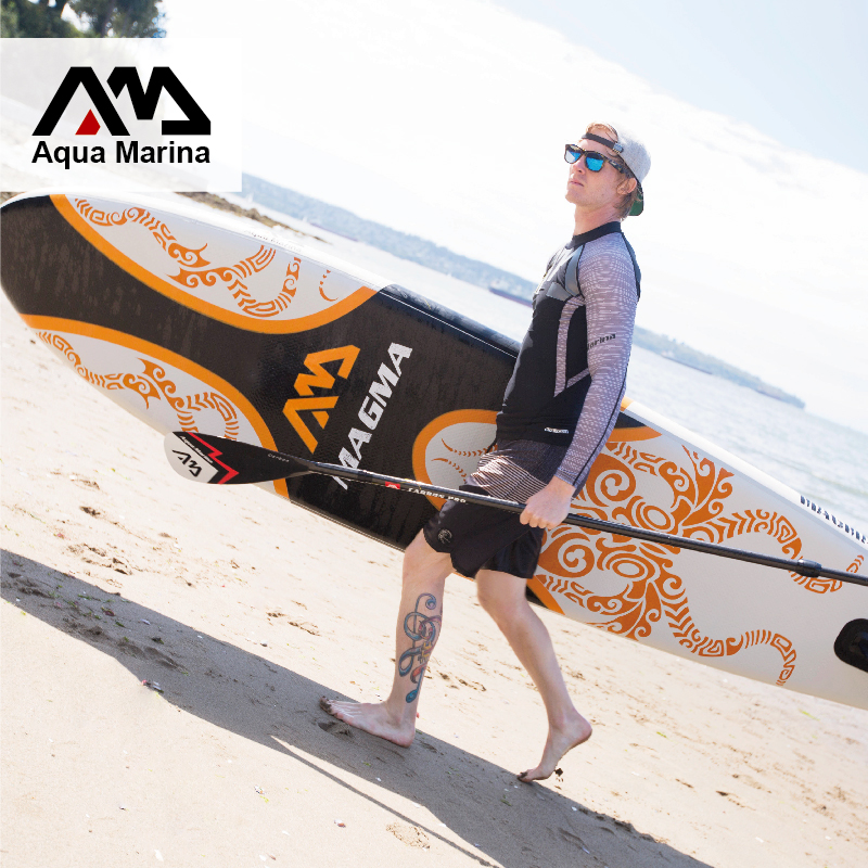 330*75*15cm inflatable surf board stand up paddle board AQUA MARINA with pedal control sup board  bag leash paddle A01005 funny summer inflatable water games inflatable bounce water slide with stairs and blowers