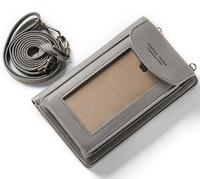 Shoulder Belt Touch Screen Mobile Phone PU Case For Leagoo T1 Plus M5 T1 M5 Edge