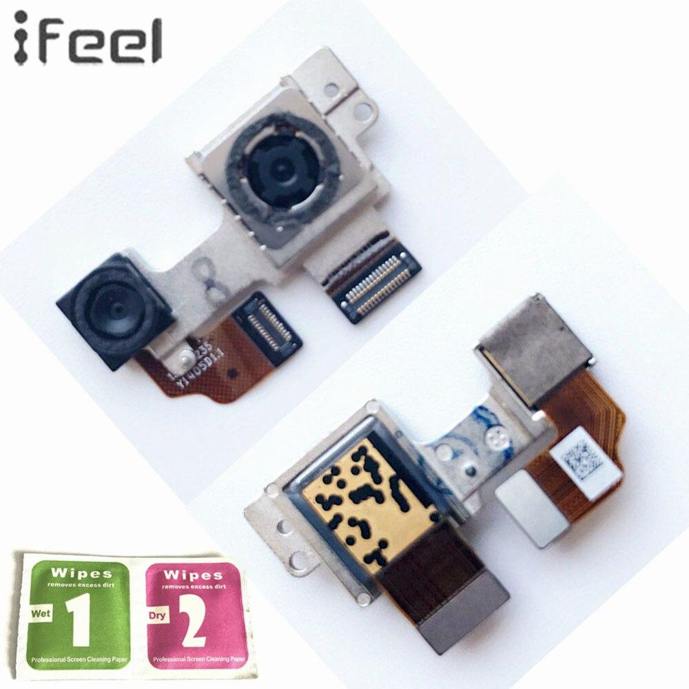 IFEEL Für HTC EINS M8 Montage Big Rückseite Rückseite Wichtigsten Camera Module Objektiv Flex Kabel Metall Konsole Anschluss Kamera Modul teile