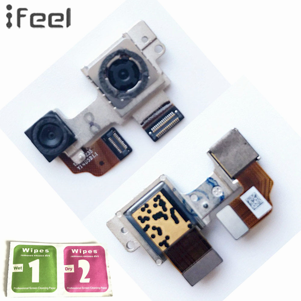 IFEEL For HTC One M8 Assembly Big Back Rear Main Camera Module Lens Flex Cable Metal Bracket Connector Camera Module Parts
