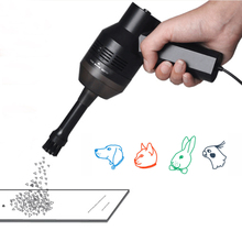Behogar Handheld Strong USB/Charging Mini Vacuum Cleaner Dust for Machine Sweeper Brush Cleaning Kit for Keyboard Laptop Car Pet