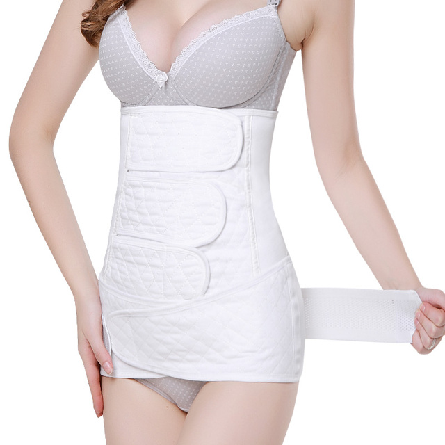 2In1 Brand Cotton Gauze Waist Cinchers Training Corsets Postpartum Recovery Belt Slimming Body Support