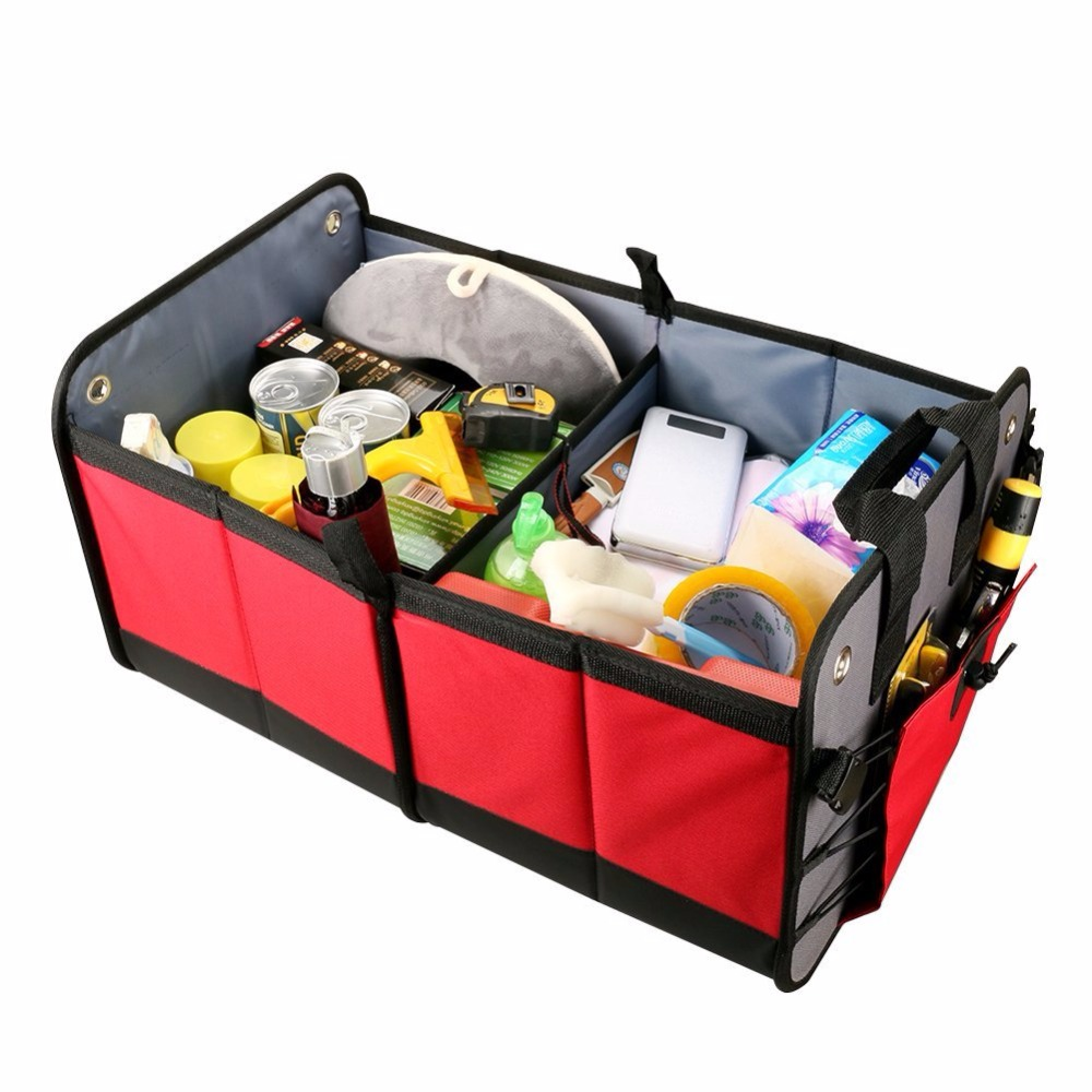 Cute Animal Collapsible Toy Storage Organizer Folding: Auto Accessories Car Organizer Folding Container Travel