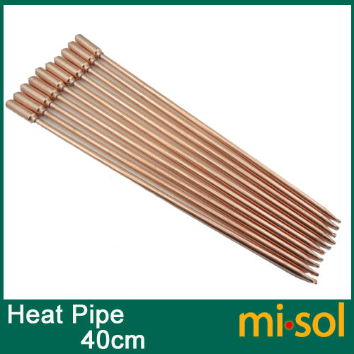 buy 10pcs lot of copper heat pipe 40cm for solar water heater solar hot. Black Bedroom Furniture Sets. Home Design Ideas