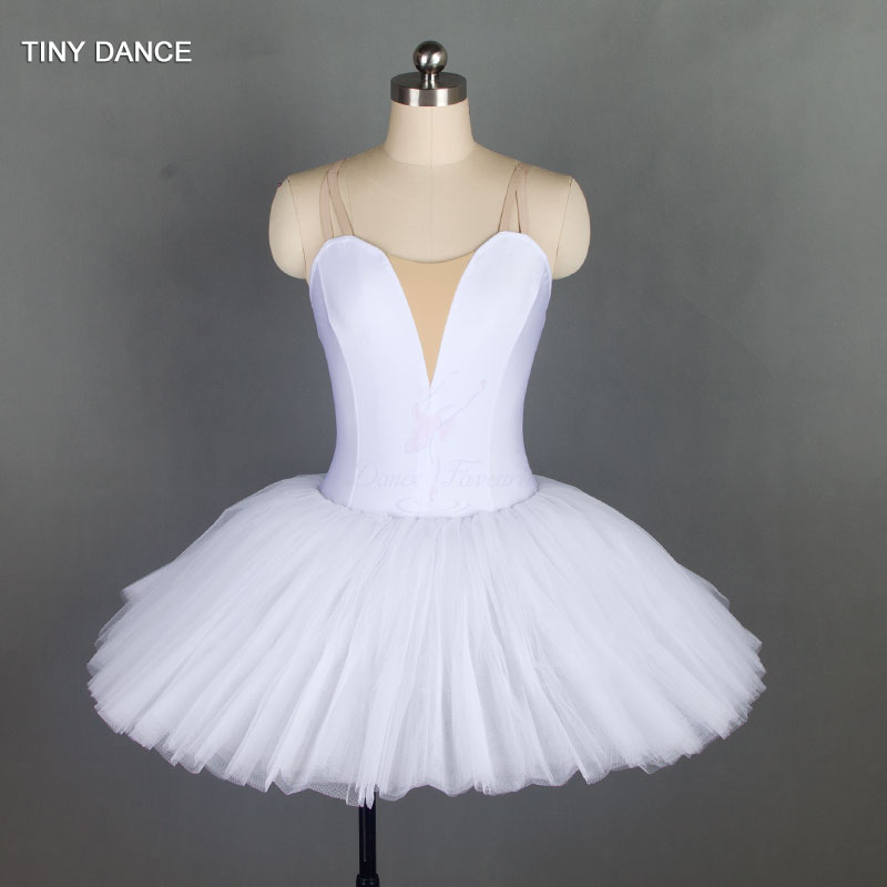Bell Shaped Ballet Tutu For Girls And Women Ballet Dance Costume Spandex Bodice With -6778