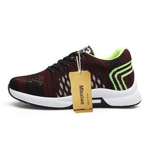 Image 2 - Misalwa 2020ฤดูร้อนแฟชั่นผู้ชายลิฟท์รองเท้าที่มองไม่เห็นเพิ่มความสูง6 CMรองเท้าสบายๆชายรองเท้าผ้าใบHombre