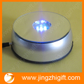 Free Shipping 4pcs/lot New Fashion 360 Degree Rotating led light base Stand with 7 colorful LEDS