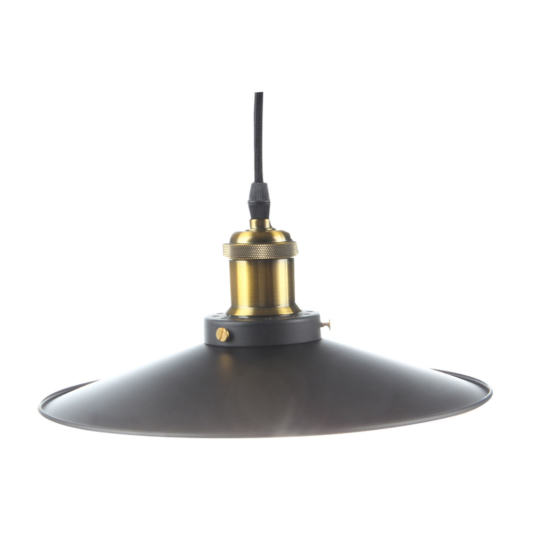 Brand New Retractable Hanging Light Vintage Loft Industrial Pendant Lights Adjustable Max Drop 1.5m Wire Lamps (diameter 26cm ca Pendant Lights     - title=