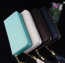Die neue außenhandel s frauen langen absatz brieftasche geschwindigkeitsverkaufs durch eine reißverschluss geldbörse handtasche FREIES VERSCHIFFEN