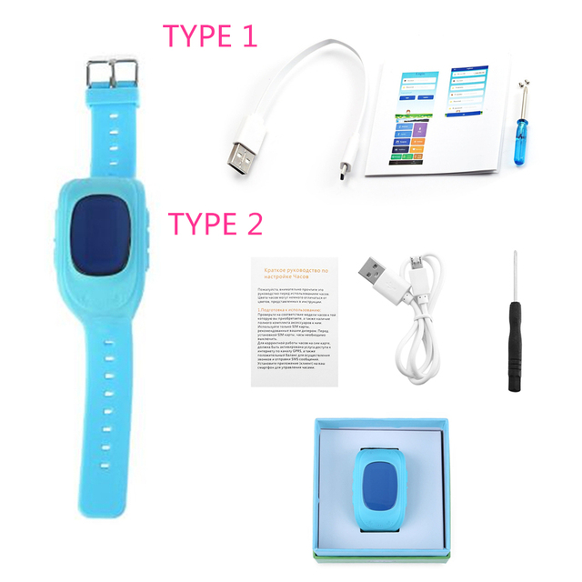 Zeepin Q50 Smart Telephone Watch Kids GPS SOS Call Locator Track Anti-Lost Baby Safe Monitor OLED LCD for iOS Android Russian 5
