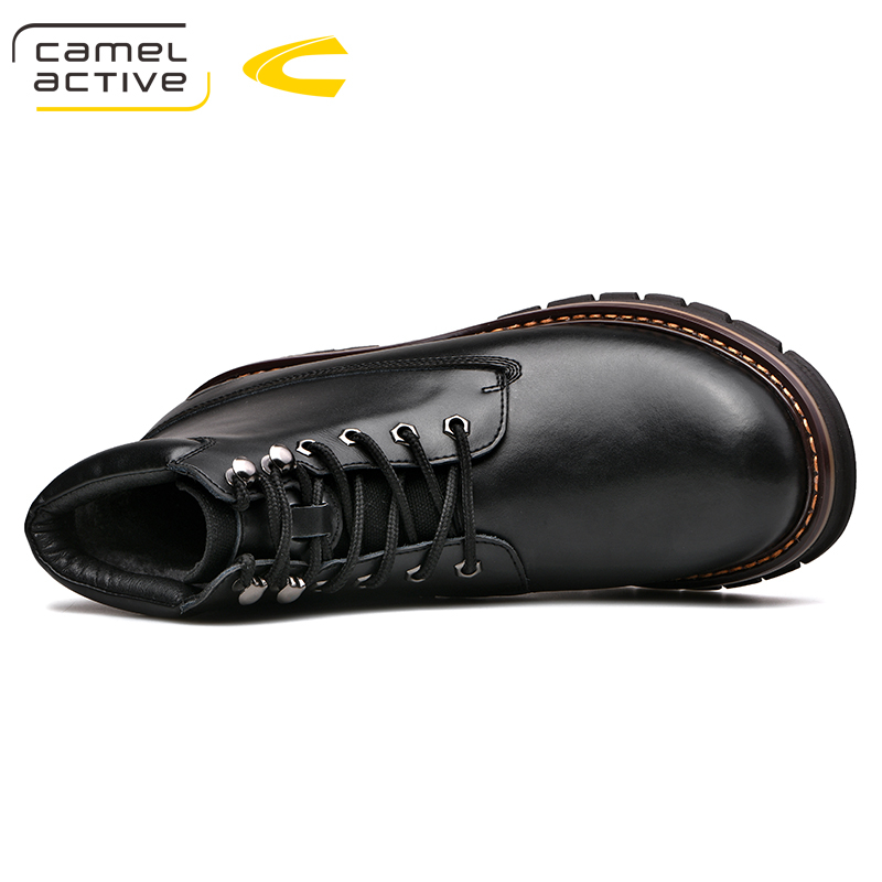 US $64.0 20% OFF|Camel Active New Winter Hiking Shoes Men Mountain Sneakers Outdoor Waterproof Boots Man Anti Skid Sport Shoes Snow Warm Trainers in