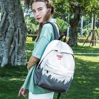Fashion Casual Landscape Printing Backpack for Women School Back Bag Teenage Girl Laptop Bookbag Trip Backpack