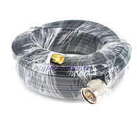 49ft Antenna Extension SMA Male Plug To N Male Jack Cable Crimp Jumper RG58 15M