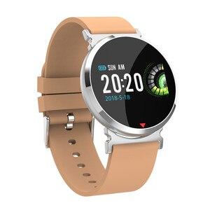 Image 2 - معدل ضربات القلب الرياضة ساعة ذكية أندرويد هواتف الايزو المحمولة بلوتوث ساعة ذكية الرجال الرقمية ضغط الدم ساعة ذكية es E28
