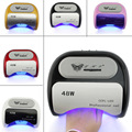 48 W LED de Uñas de Gel UV Luz Lámpara para Rizar CCFL Nail Art polaco Secador de Manicura Profesional Auto Inducción Temporizador ajuste