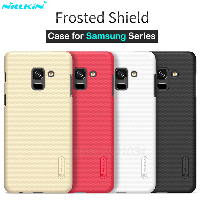 Nillkin Frosted Case for Samsung Galaxy A6 A6+ A8 A8+ Case J4 J6 J8 2018 Plus J5 J7 Pro 2017 Cover Case Phone Bag