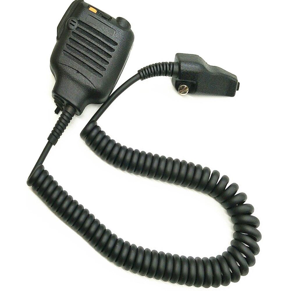 49c41636f3e79 Kenwood için walkie talkie hoparlör mikrofon yedek TK480 TK290 TK3140  TK3148 TK2180 TK3180 KMC-25 için Kenwood radyo aksesuarları