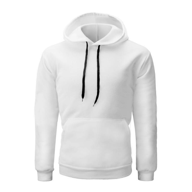 f162fa1ec 3D Lion Head Print Embossing Men's Hoodie Casual Black White Hooded  Sweatshirt Autumn Spring Winter Male Solid Color Hoodies-in Hoodies &  Sweatshirts from ...