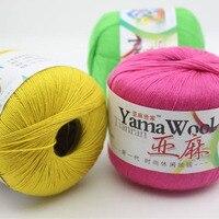 10 cái/bộ 100% cotton chải kỹ đề linen crochet ren mỏng bông làm bóng dệt kim chủ đề móc-line gửi crochet hook
