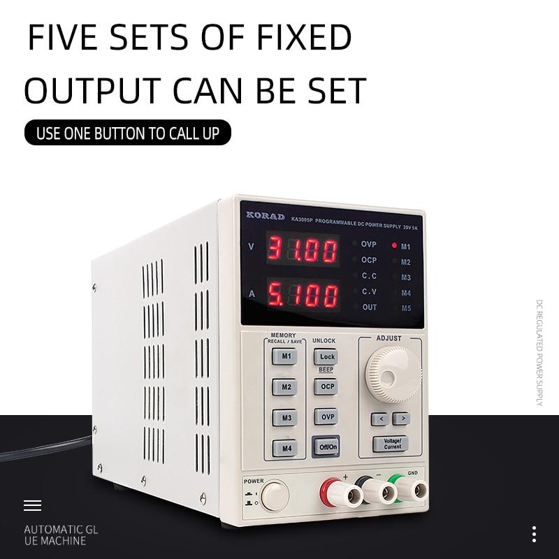 KORAD DC Power Supply Digital Regulated Lab Grade Linear Precision Variable Adjustable Switching 30V 3A 30V 5A 60V 2AKORAD DC Power Supply Digital Regulated Lab Grade Linear Precision Variable Adjustable Switching 30V 3A 30V 5A 60V 2A