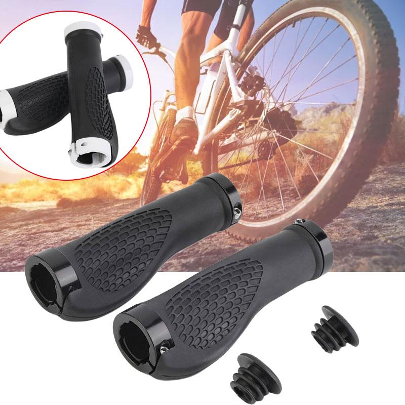 Алюминиевый сплав ручка для велосипеда инструмент для горного велосипеда части эргономичный рукоятка для аксессуаров шоссейный для автомобиля, нескользящий ручка велосипедного руля