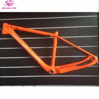 New 2019 ROLLING STONE MTB Mountain bike CARBON Frame 27.5 * 16 17 inches XC RIDE Orange color