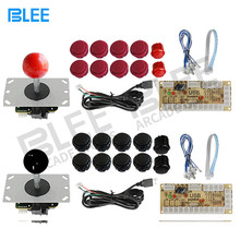 Arcade Joystick DIY Kit Zero Delay Arcade DIY Kit USB Encoder To PC PS3 Arcade Sanwa Joystick and Push Buttons For Arcade Mame(China)