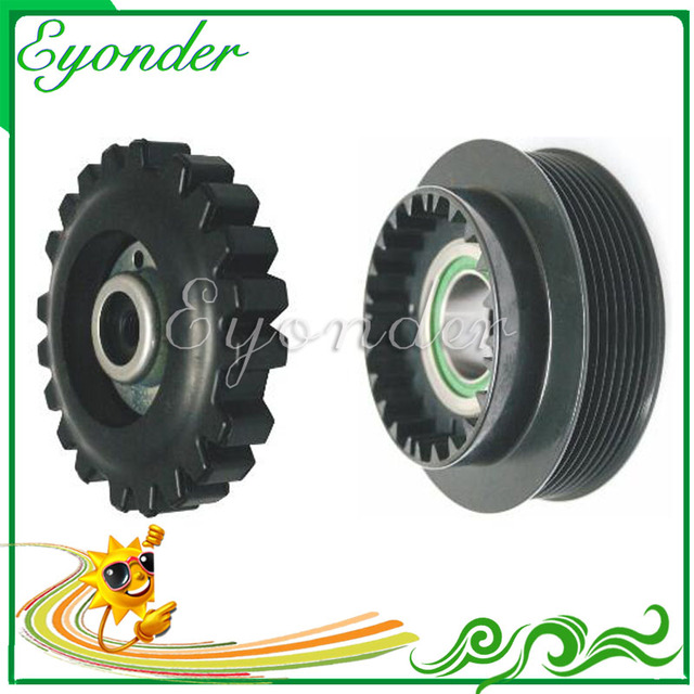 US $36 0 |AC A/C Air Conditioning Compressor Clutch Assembly Pulley for  MERCEDES BENZ C CLASS W204 C180 C200 C350 C63 C220 C230 0022304911-in Fans  &