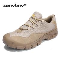 Men Combat Boots Outdoor Military Boots Size 38 46 Breathable U.S. Military Assault Tactical Men's Travel Comfort Desert Boots