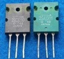 מיובא לזווג צינורות 2SA1301 C3280 2SC3280 A1301 ל 3.4