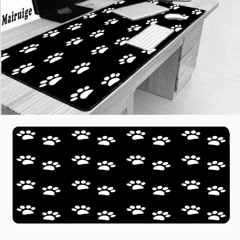 Mairuige Soft Silicone Large Mouse Pad Cat Paw Comfort Memory Pads Mousepad for Team Game Notebook Pad Drop Shipping Mousepad