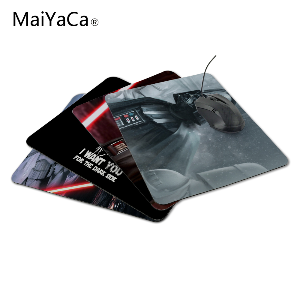 MoreYaCa Darth Vader Star Wars Sosiri noi Mouse pad Computer Gaming Mouse Pad