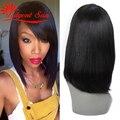 human hair wig bob brazilian virgin hair lace front wig glueless lace front human hair wigs Swiss lace 130% density