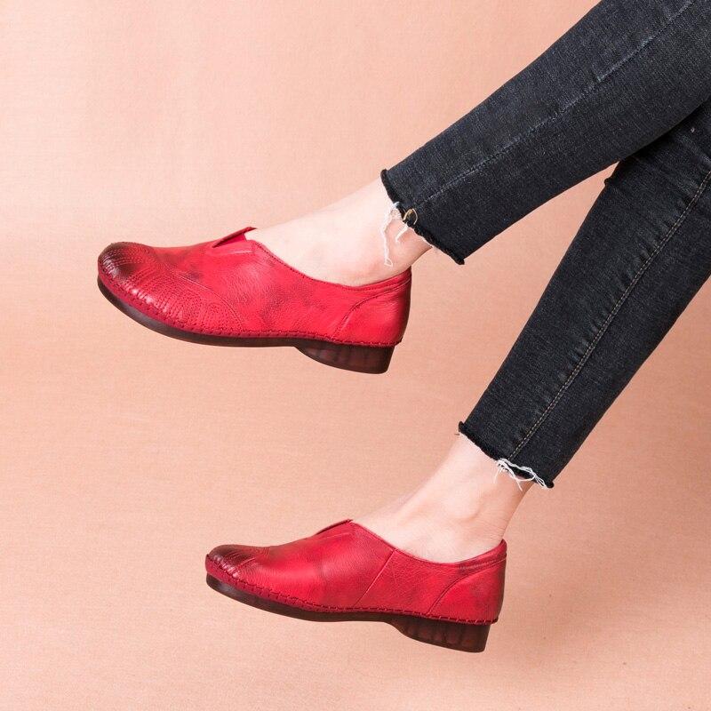 United plana-sapatos mulheres TOACEK
