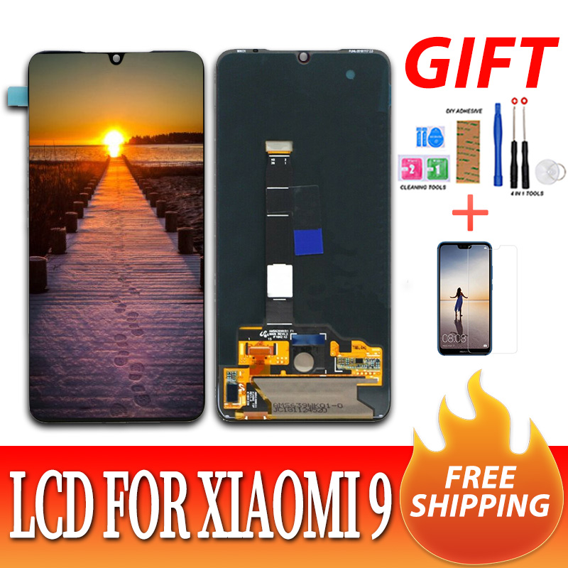 Original AMOLED LCD For <font><b>xiaomi</b></font> Mi 9 <font><b>Mi9</b></font> <font><b>Display</b></font> 6.39'' for <font><b>xiaomi</b></font> 9 LCD <font><b>Display</b></font> +Touch Screen Digitizer Assembly +tools image
