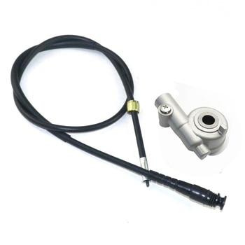 Engranaje de transmisión del velocímetro de la VESPA con el Cable para las piezas chinas del patinete GY6 50cc 150 cc