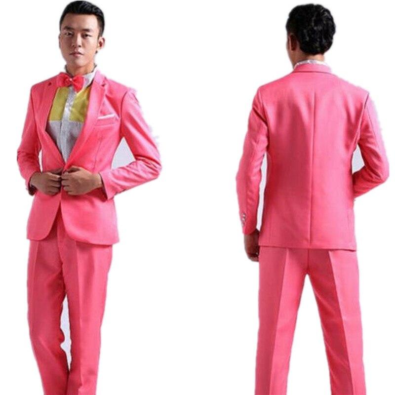 っAlta calidad casual para los hombres trajes para hombre un botón ...