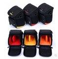 A prueba de golpes! Práctico práctico miniatura bolsa de la cámara SLR y teleobjetivo, compartimiento interno para sony a5000 para canon eos m