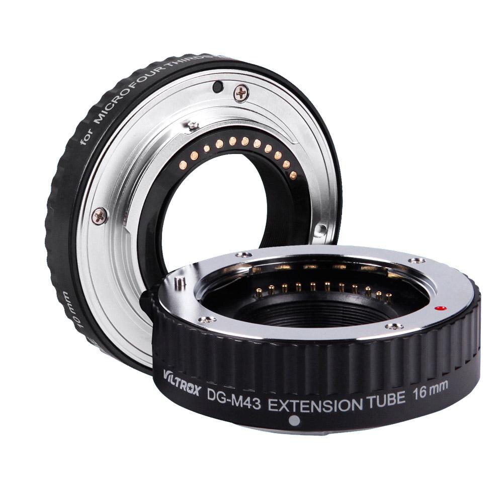 VILTROX Macro AF Auto Focus Extension DG Tube 10mm 16mm Set Ring Metal Mount for Micro