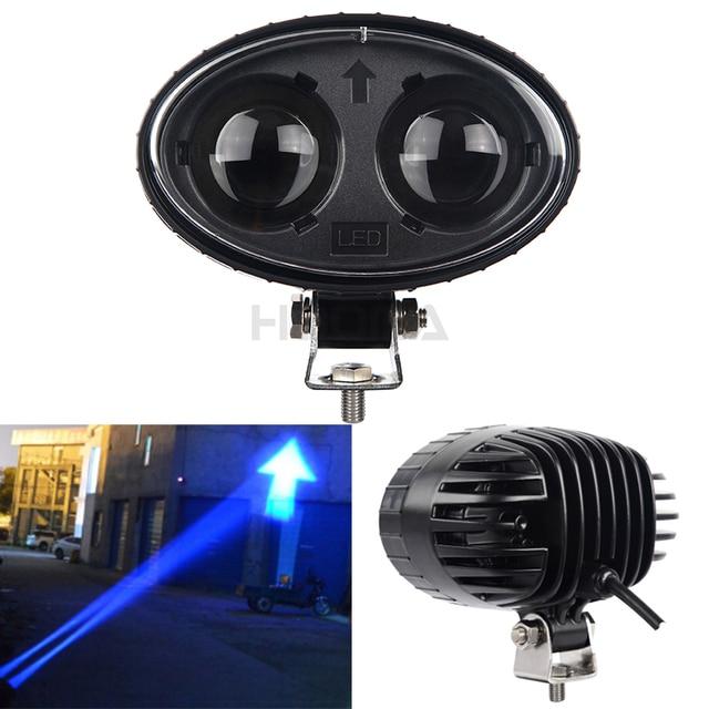 10 Ostrzeżenie Dioda Lampa Us36 Dla Światło Wózka Strzałka 60 Niebieska Led 010 Magazyn W Robocza Widłowego V dCeBxo