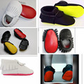 Yellow Red sole Genuine Leather shoes baby Moccasins Soft Moccs fringe Shoes girls Newborn first walker Anti-slip Infant Shoes
